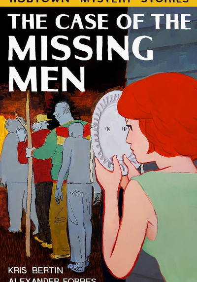 Cover image of The Case of the Missing Men, black&white