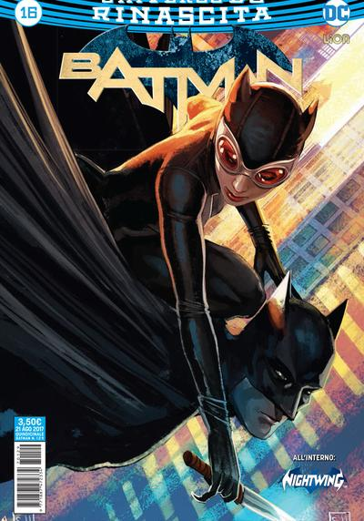 Cover image of Batman Rinascita #16, color