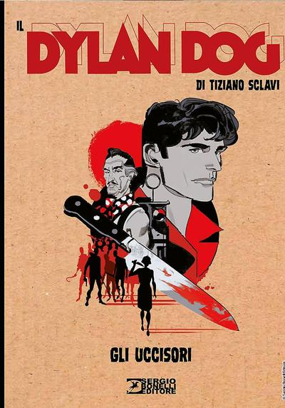 Cover image of Dylan Dog Collezione Book #5, color