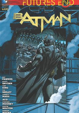Cover image of Futures end: Batman - Volume 2 (ITA), color