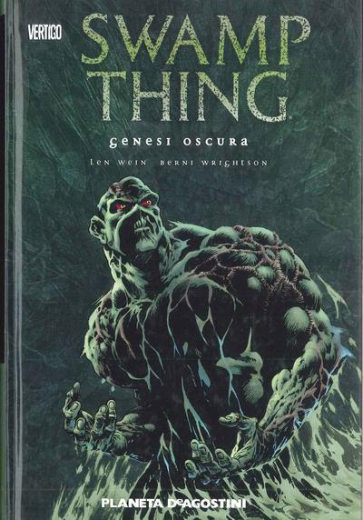 Cover image of Swamp Thing: genesi oscura, color