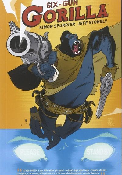 Cover image of Six-Gun Gorilla (ITA), color