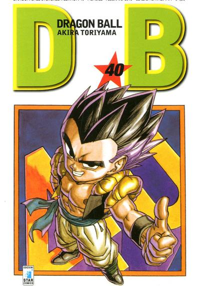 Cover image of Dragon Ball. Evergreen edition: 40, black&white