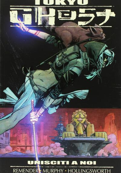 Cover image of Tokyo Ghost 2, color