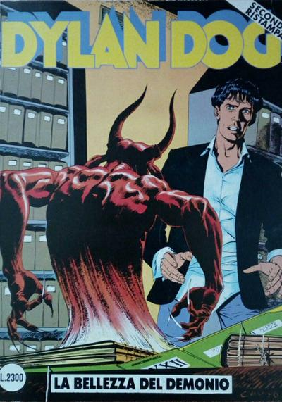 Cover image of Dylan Dog #6, black&white