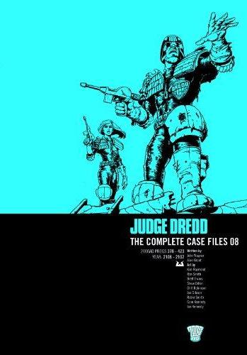 Cover image of Judge Dredd: the Complete Case Files: 2000AD progs 376-423, year: 2106-2107, black&white