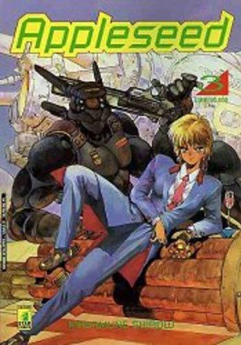Cover image of Appleseed #3 (ITA), black&white