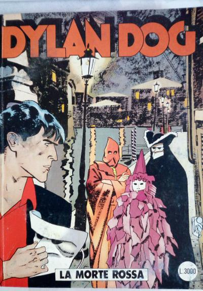 Cover image of Dylan Dog #126, black&white