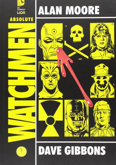 Cover image of Absolute Watchmen (Rw Lion), color