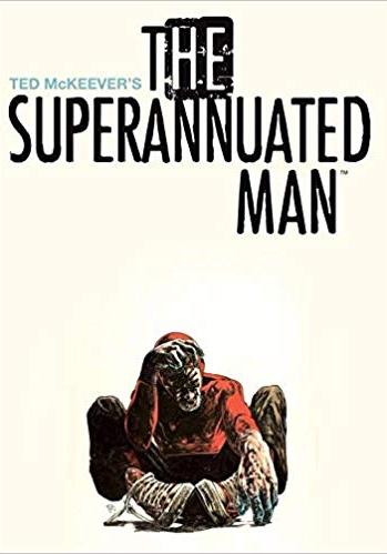 Cover image of The Superannuated Man, black&white