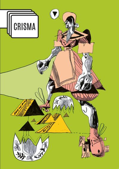 Cover image of Crisma #1, black&white