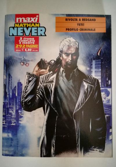 Cover image of Maxi Nathan Never - Numero 7, black&white