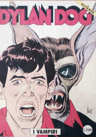 Cover image of Dylan Dog #62, black&white