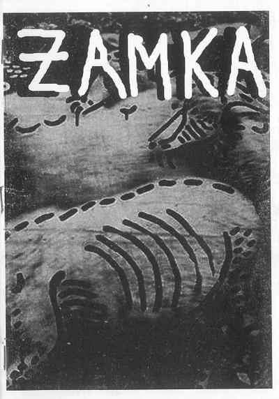 Cover image of ZAMKA, black&white