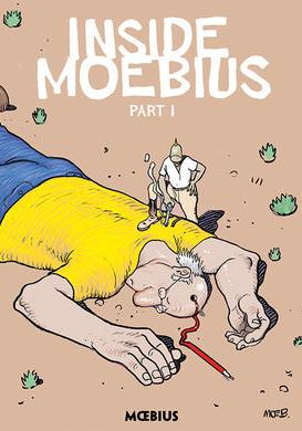 Cover image of Moebius Library: Inside Moebius part 1, color