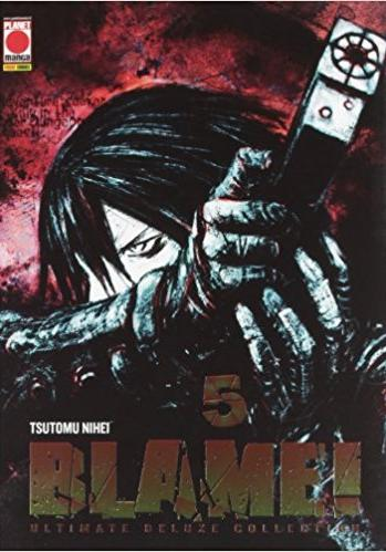 Cover image of Blame! Ultimate Deluxe Collection 5, black&white