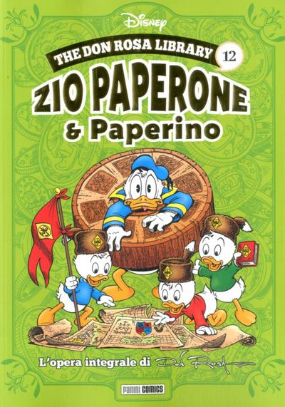 Cover image of The Don Rosa Library #12, color