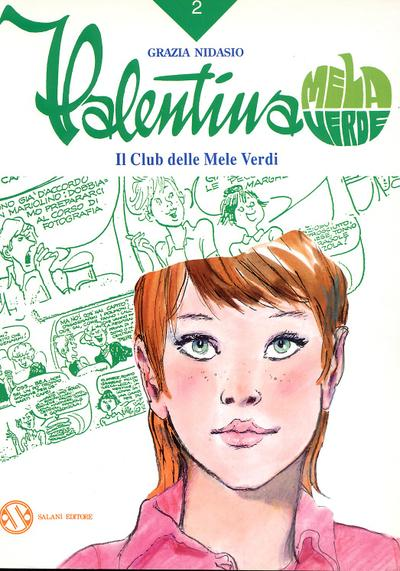 Cover image of Valentina Mela Verde #2, black&white