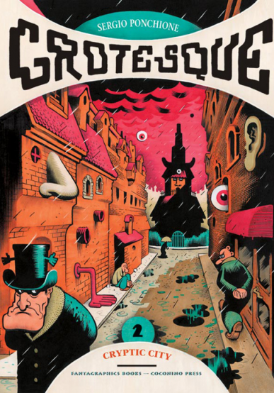 Cover image of Grotesque #2 (ITA), color