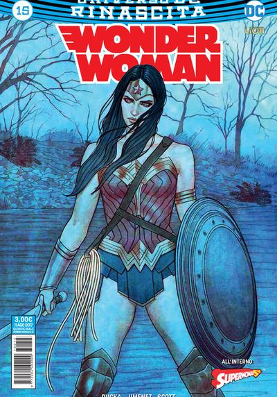 Cover image of Wonder Woman Rinascita #15, color