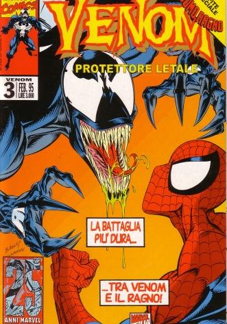 Cover image of Venom n.3 ( Marvel Italia ), color
