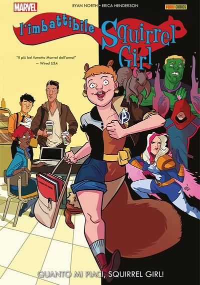 Cover image of L'Imbattibile Squirrel Girl   2, color