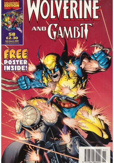 Cover image of Wolverine And Gambit 58, color
