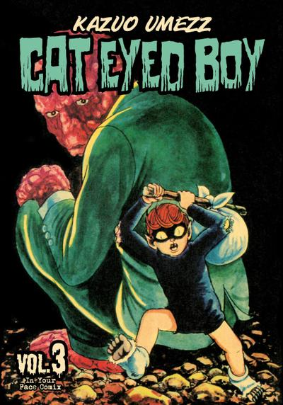 Cover image of Cat Eyed Boy #3 (ITA), black&white