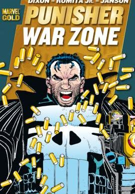 Cover image of Marvel Gold - Punisher War Zone, color