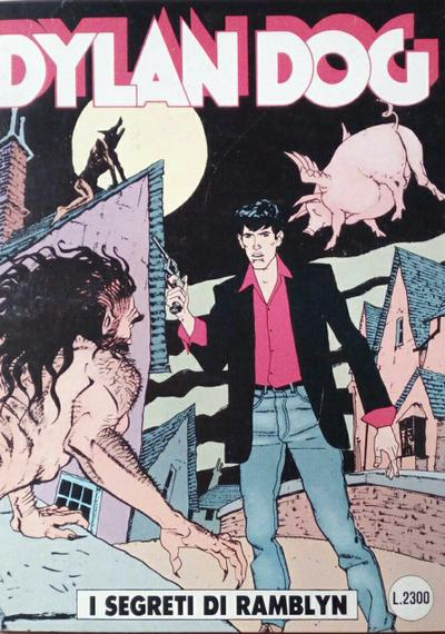 Cover image of Dylan Dog #64, black&white