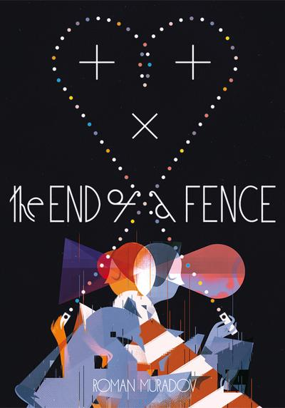 Cover image of The end of a fence, color