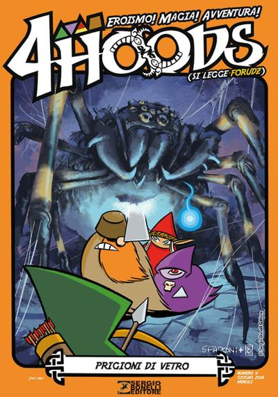 Cover image of 4Hoods #4, color