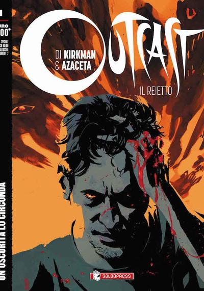 Cover image of Outcast #1 (ITA), black&white