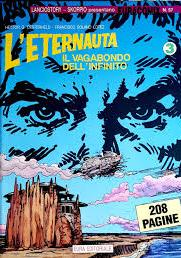 Cover image of L'Eternauta il Vagabondo dell'Infinito #3, black&white