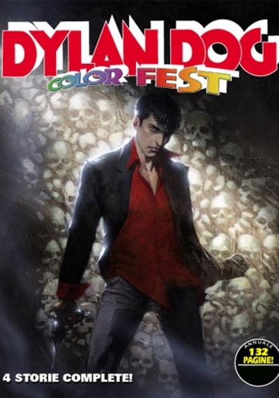 Cover image of Dylan Dog Color Fest 1 - 4 Storie Complete, color