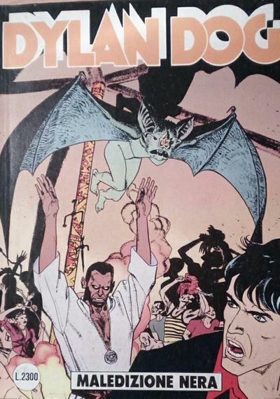 Cover image of Dylan Dog #76, black&white