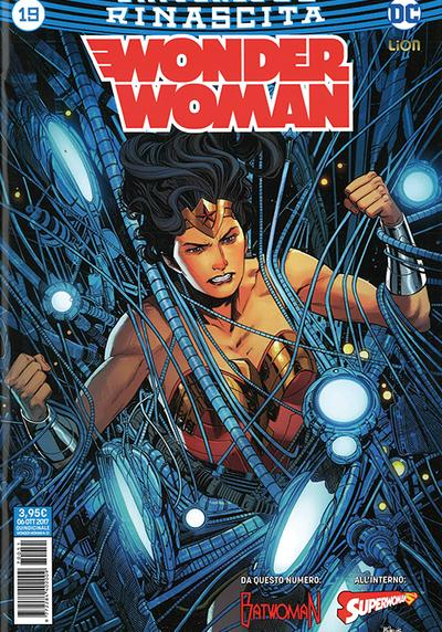 Cover image of Wonder Woman #19, color