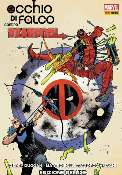 Cover image of Occhio di falco contro Deadpool, color
