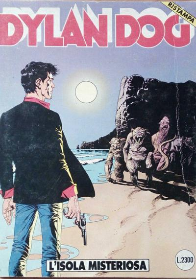 Cover image of Dylan Dog #23, black&white