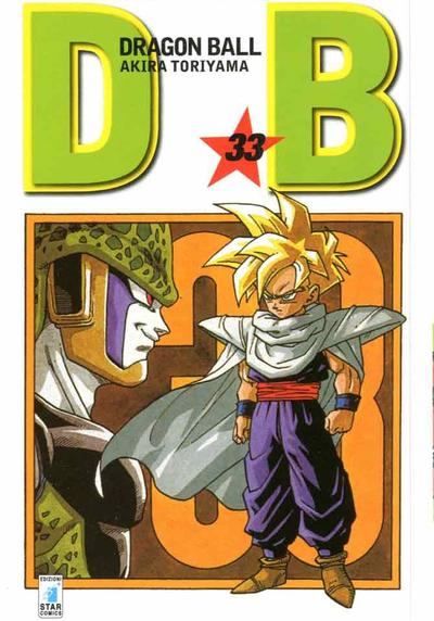 Cover image of Dragon Ball. Evergreen edition: 33, black&white