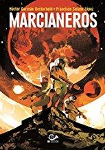 Cover image of Marcianeros, black&white