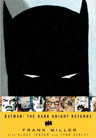 Cover image of Batman: The Dark Knight Returns, color