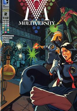 Cover image of Multiversity #2 (ITA), color