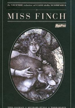 Cover image of Le vicende relative al caso della scomparsa di Miss Finch, color
