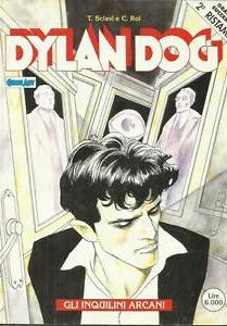Cover image of Dylan Dog- Gli inquilini arcani.  2°ristampa, color