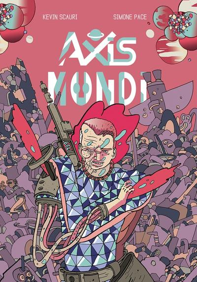 Cover image of Axis Mundi, color