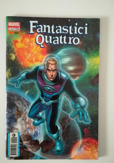 Cover image of Fantastici Quattro n. 254, color