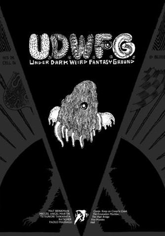 Cover image of U.D.W.F.G. #3, black&white