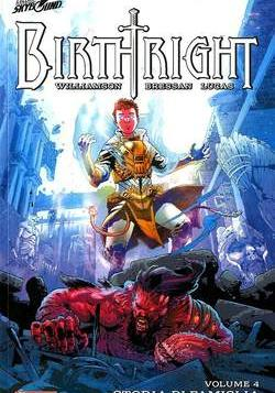 Cover image of Birthright #4, color