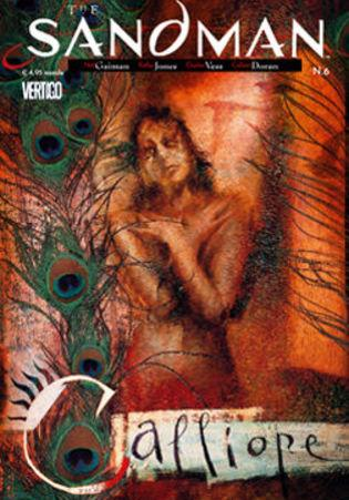 Cover image of the Sandman #6 (ITA), color